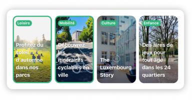 Cityapp - Stories