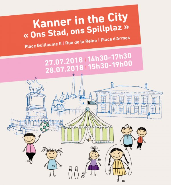 Affiche Kanner in the City 2018