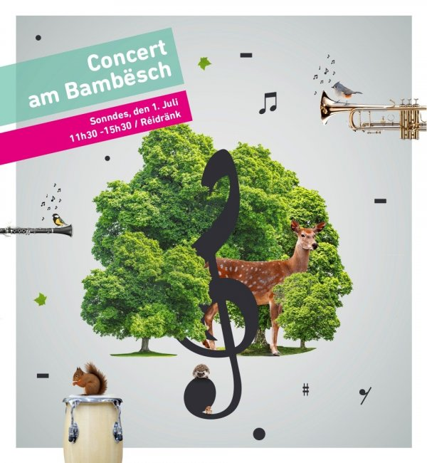 Illustration Concert am Bambësch 2018