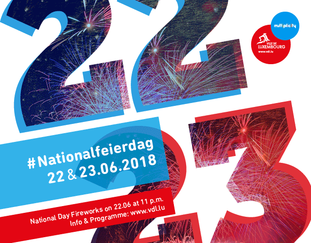 Illustration Fête nationale affiche 2018