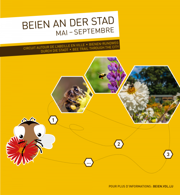 Beien an der Stad trail from May to September 2019