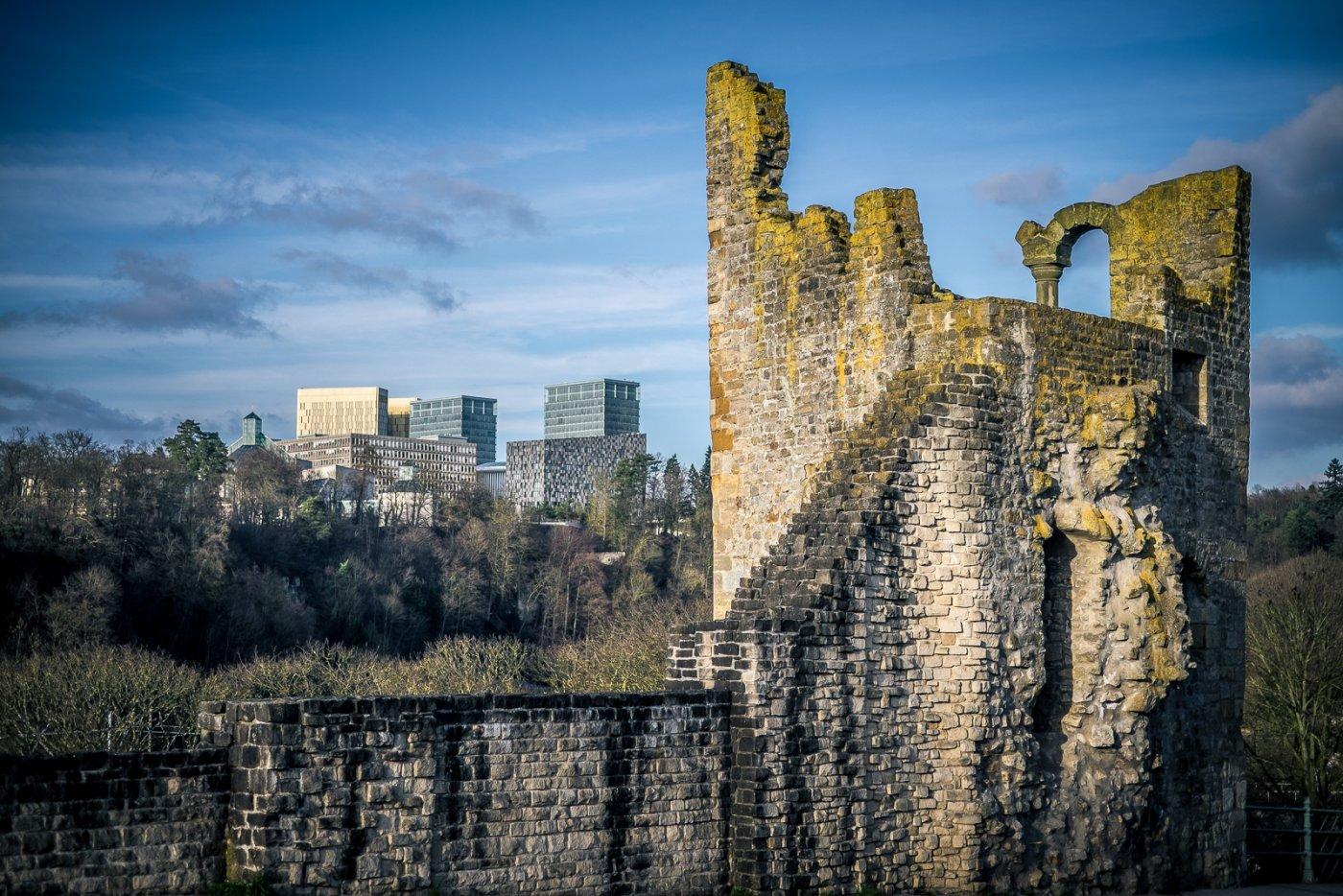 Architecture et patrimoine ville de luxembourg
