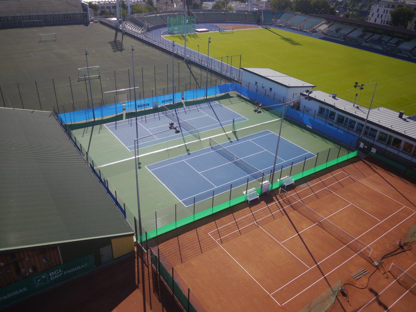 courts de tennis ville de luxembourg. Black Bedroom Furniture Sets. Home Design Ideas