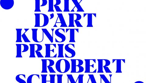 Illustration du logo du Prix d'art Robert Schuman 2019